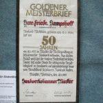 Goldener Meisterbrief  2