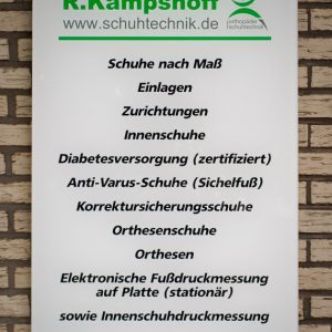 Reinhold Kampshoff Orthopädie Schuhtechnik  3